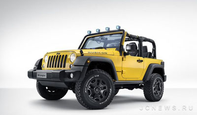 Jeep подготовил Wrangler Rubicon Rocks Star